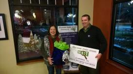 2014 Small Business Saturday gift basket winner.
