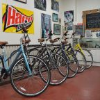 Cycles Plus: Main Street in Clarence's bike shop