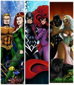 Perdziak superheroes