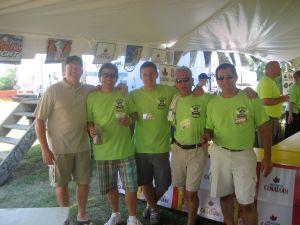 Volunteers Beer Tent
