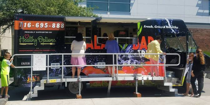 Salad Bar Truck