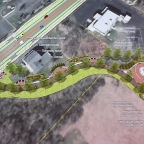 Proposed Pocket Park, Bike Lanes Show Main Street Plan's Love For Harris Hill