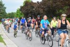 Hundreds ride in today's Clarence Bike Stampede